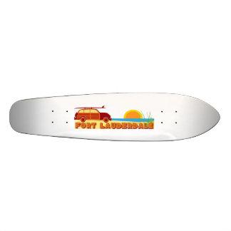 Fort Lauderdale. Custom Skateboard