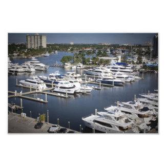 Fort Lauderdale Docks Photographic Print