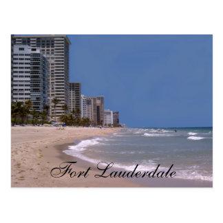 Fort Lauderdale Florida Beach & Ocean  Postcard