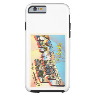 Fort Lauderdale Florida FL Vintage Travel Souvenir Tough iPhone 6 Case