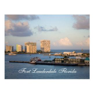Fort Lauderdale Florida Postcard