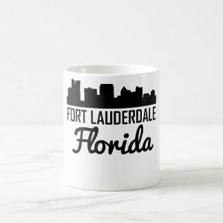 Fort Lauderdale Florida Skyline Coffee Mug