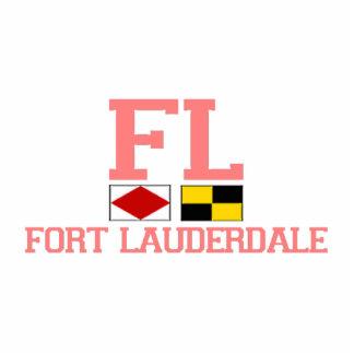 Fort Lauderdale. Photo Sculpture Magnet