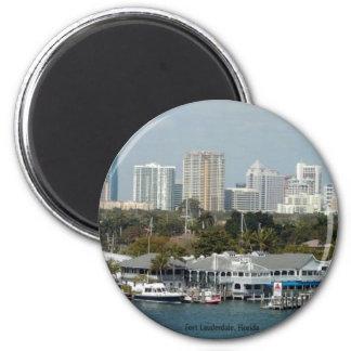 Fort Lauderdale Skyline Magnet
