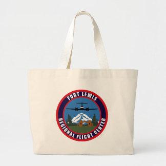 Fort Lewis Regional Flight Center Tote Bags