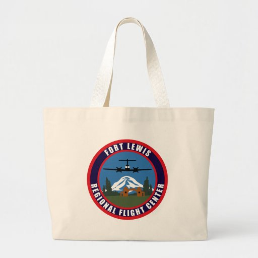 Fort Lewis Regional Flight Center Tote Bags