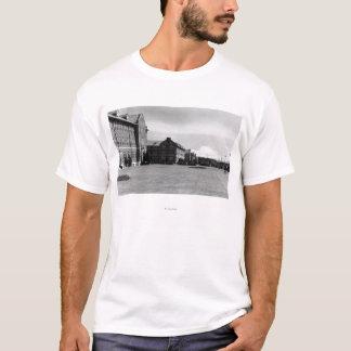 Fort Lewis, WA View of Barracks and Mt. Rainier T-Shirt
