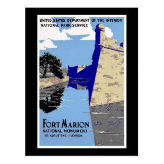 Fort Marion National Monument St Augustine Florida Postcard