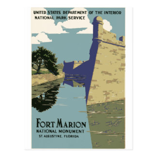 Fort Marion Postcard