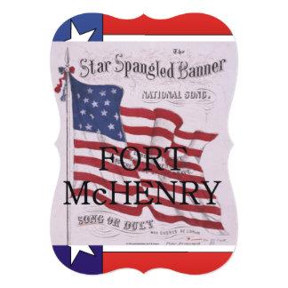 Fort McHenry d'ABH Faire-part