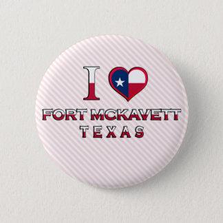 Fort McKavett, Texas 2 Inch Round Button