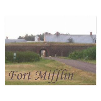 FORT MIFFLIN POSTCARD
