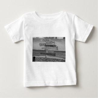 Fort Myers Beach Mural Baby T-Shirt