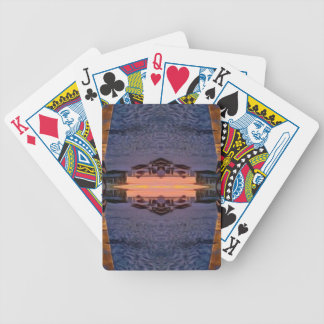 Fort Myers Beach Psychedelic Bicycle Playing Cards