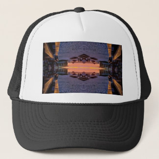 Fort Myers Beach Psychedelic Trucker Hat