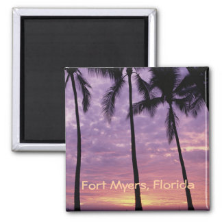 Fort Myers, Florida Photo Souvenir Fridge Magnet