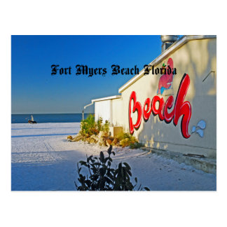 Fort Myers florida Postcard