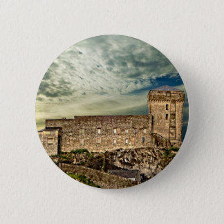 Fort on the hill 2 inch round button
