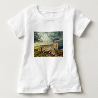 Fort on the hill baby romper