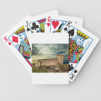 Fort on the hill bicycle playing cards