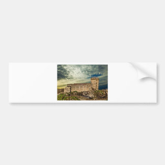 Fort on the hill bumper sticker