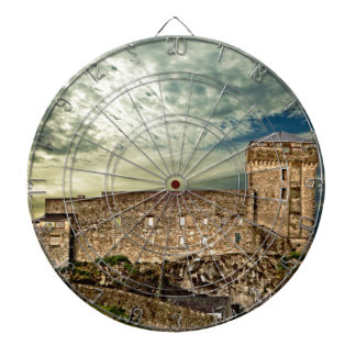 Fort on the hill dartboard