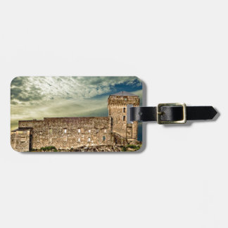Fort on the hill luggage tag