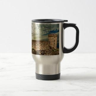 Fort on the hill travel mug