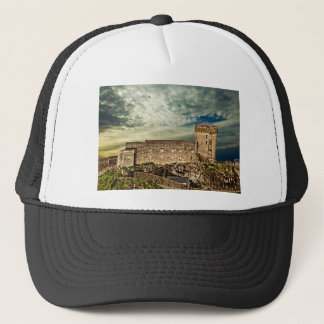 Fort on the hill trucker hat