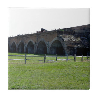 Fort Pickens Arches Ceramic Tile