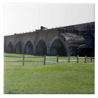 Fort Pickens Arches Ceramic Tiles