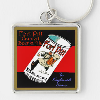 Fort Pitt Beer Keychain