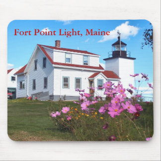 Fort Point Light, Maine Mousepad