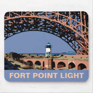 FORT POINT LIGHT MOUSE PAD