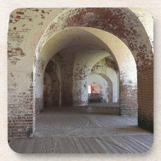 Fort Pulaski Hall Beverage Coasters