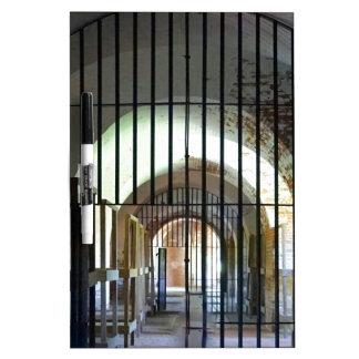 Fort Pulaski Jail Dry Erase Boards