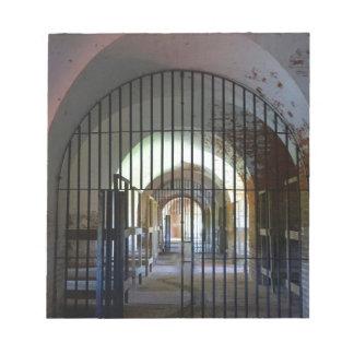 Fort Pulaski Jail Notepad