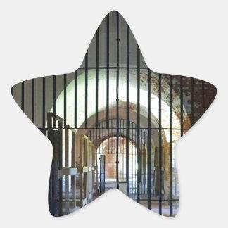 Fort Pulaski Jail Star Sticker