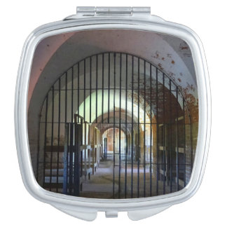 Fort Pulaski Jail Travel Mirror