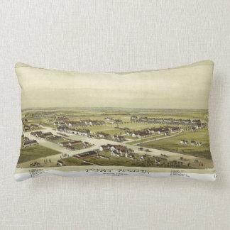 Fort Reno, Oklahoma Territory (1891) Lumbar Pillow
