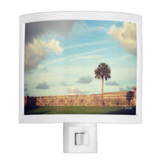 Fort St Augustine Florida Night Lite