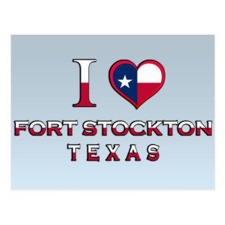 Fort Stockton, Texas Postcard