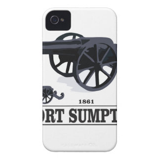 fort sumpter battle iPhone 4 covers