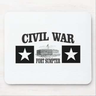 Fort sumpter double star mouse pad