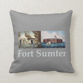 Fort Sumter Throw Pillow