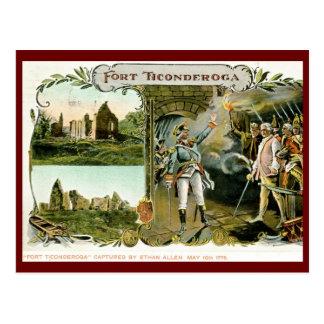 Fort Ticonderoga, Ethan Allen NY 1907 Vintage Postcard