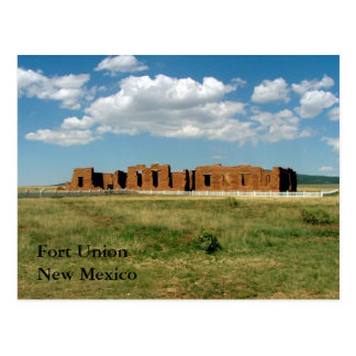 Fort Union Postcard