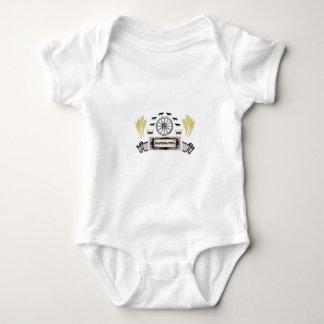 fort walla walla baby bodysuit