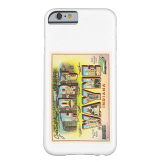 Fort Wayne #2 Indiana IN Vintage Travel Souvenir Barely There iPhone 6 Case