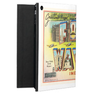 Fort Wayne #2 Indiana IN Vintage Travel Souvenir iPad Air Covers